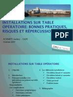 UE 3.1.2 - Les Installations Au Bloc Opératoire (1)