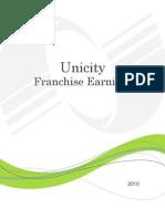 Unicity Franchise Earnings Booklet