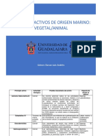 PRINCIPIOS ACTIVOS MARINOS