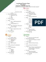 Long Range&Thematic Planning