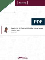 SANAR - Anatomia Do Timo e Das Suprarrenais