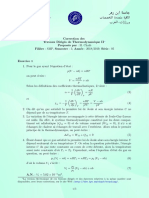 FPO-SMP-TD-Thermodynamique-II-2018-2019-Serie-05-Correction