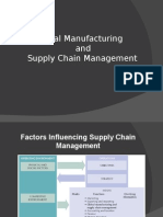global manufacturing and SCM