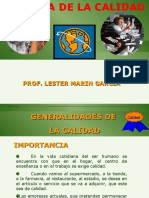 01 CULTURA DE LA CALIDAD (Generalidades de la calidad)