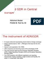 ADR and GDR edited