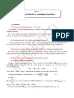 Cours Mécanique quantique I_Chapitre V_Postulats (1)