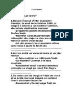 referat.clopotel.ro-Mihail Sadoveanu - Fratii Jderi rezumat