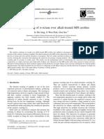 Catalytic cracking of n-octane over alkali-treated MFI zeolites