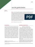 Complications Des Gastrectomies