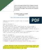 cours - la France dans la Seconde Guerre mondiale (2)