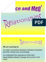 Ch. 1 George and Lennie's Relationship PP