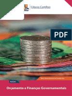 Orçamento e Finanças Governamentais