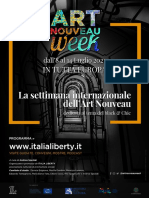 Comunicato Stampa Art Nouveau Week 2021