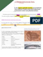 3° Continuité Pédagogique - Chapitre - Géologie (2° partie)