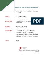 U3_S8_Texto Argumentativo (Unión Civil) RESUELTO