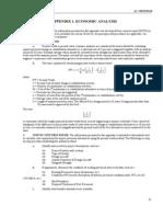 maintenence economic analysis