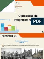 O processo de integração na Europa ssss