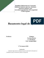 Basamento legal de updf