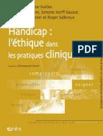 Handicap l'Éthique Dans Les Pratiques Cliniques