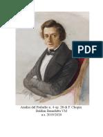 Chopin Lavoro Benedetta