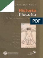 Reale & Antiseri - Historia de La Filosofía. 3. Del Humanismo a Descartes