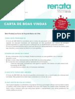 Manual SBVDAE INEM Carta BoasVindas