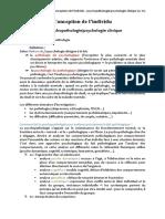 3- La psychopathologie & psychologie clinique