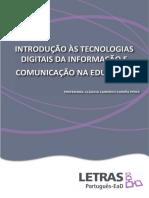 Introdução às Tecnologias Digitais da Informação e Comunicação na Educação