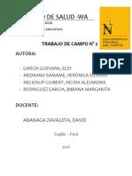 SESIÓN DE TUTORÍA