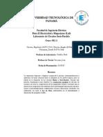 Informe Circuito Serie-Paralelo