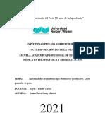 Fisiopatologia (Enfermedades Pulmonares y Leyes de Gases Generales)
