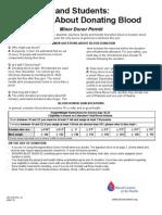 Minor Donor Permit 7-2010