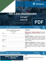 AULA 02- TCC1 EM EMGENHARIAS
