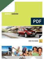 Renault Sandero Katalog RPA