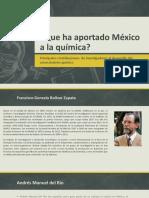 Que Ha Aportado México a La Química
