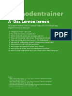 Methodentrainer - How to learn