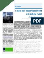 FR Evaluation Insights WASH Final Draft