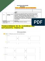 Guia N°36 CUADERNILLO DE MATEMATICA