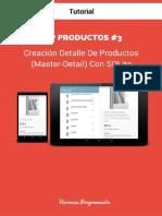 Tutorial App Productos 3