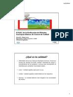 El ABC de La Verificacion de Metodos, Conceptos Basicos de CC (1)