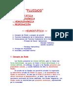 11_Hidrostática e Hidrodinámica - Apuntes de Física de Enfermería