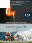 Global Warming, Greenhouse Gas Effect, Carbon Sequestration and Air Pollution by Waqas Ali Tunio