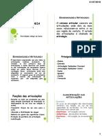Artrologia  2019 Alunos AVA