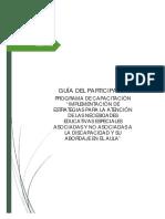 GUÍA DEL PARTICIPANTE ESTRATEGIAS