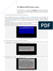 vmware esxi - Instalacion facil