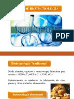 Unidad 2. Tipos de Biotecnología