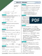 Derivation Exercices Non Corriges 1