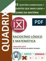 APOSTILA MATEMATICA - QUADRIX