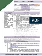 ?Junio - 3er Grado Inglés (2020-2021)