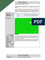 Fichas Textual y de Resumen